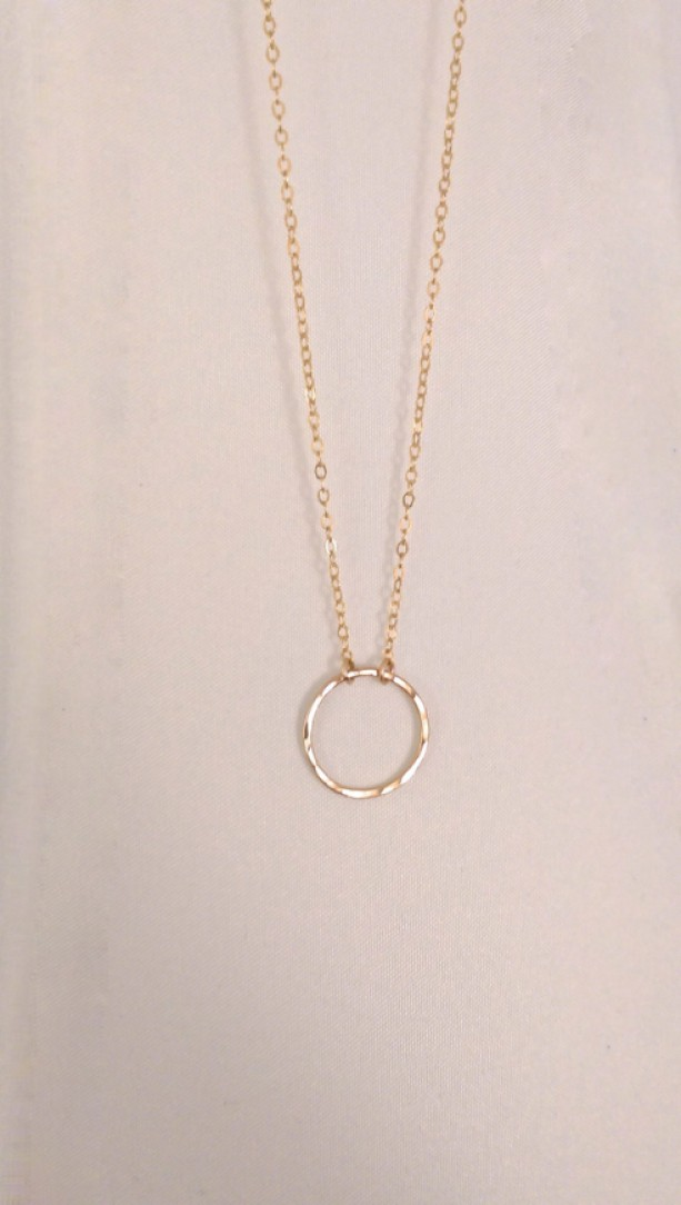 Gold circle necklace little gold circle necklace hammered circl gold circle necklace little gold circle necklace hammered circle necklace hammered gold circle aloadofball Gallery