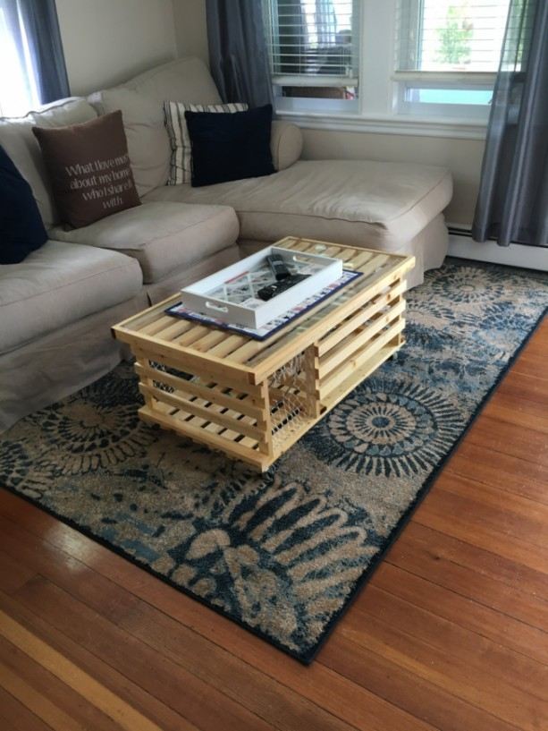 Wooden Lobster Trap Coffee Table Made In Usa
