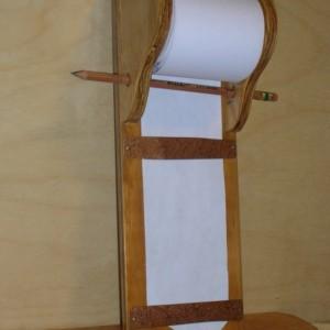 Hanging memo pad