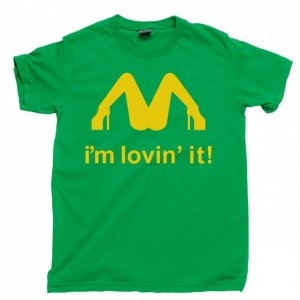I'm Lovin It Men's T Shirt, Slash I'm Loving It Izzy Stradlin Axl Rose Duff Mckagan Guns N Roses GNR Concert Unisex Cotton Tee Shirt