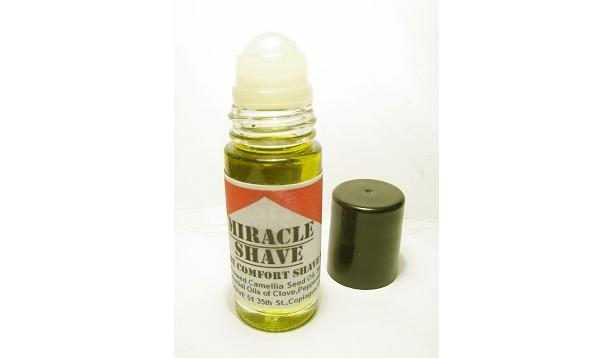 "Miracle Shave Comfort X-Treme Shave Oil for Sensitive Skin ""No Razor Burn"""