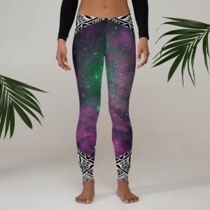 Flower of Life Universe Mandala Leggings