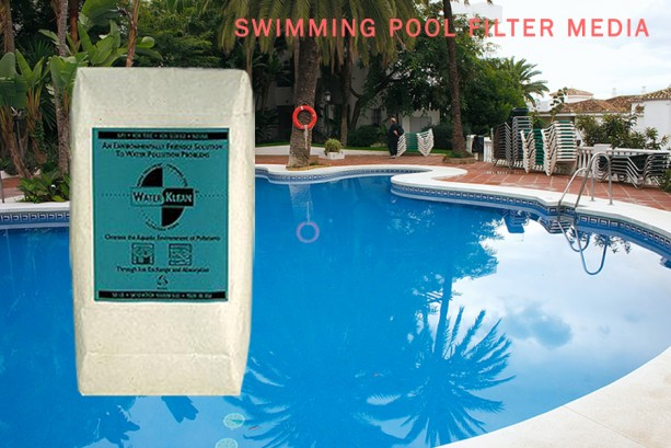 WATERKLEAN Natural Swimming Pool Filtration EcoSmart Media: 50 lb. Chemical-Free