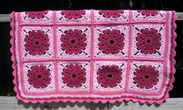 Maybelle Flower Baby Blanket