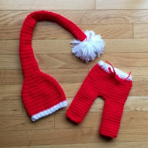 Christmas Elf Hat and Pants