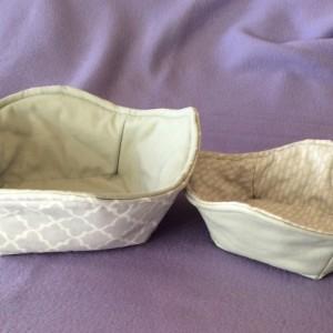 Gray Cool Hands Micro 'hot pad' Bowls