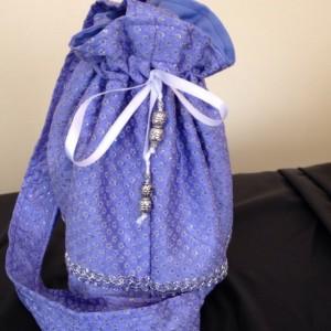 Shimmering star BOHO gypsy pouch