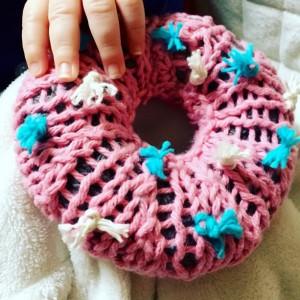 Handknit Donut Set