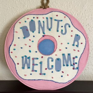 Welcome Donut Sign