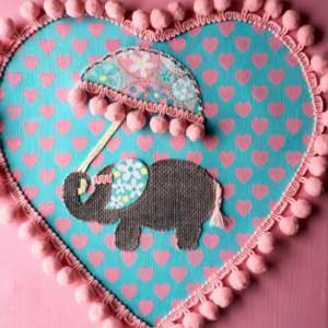 Baby Elephant Art