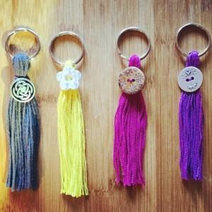 Tassel Keychain Set