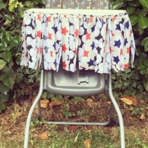 High Chair Fabric Garland