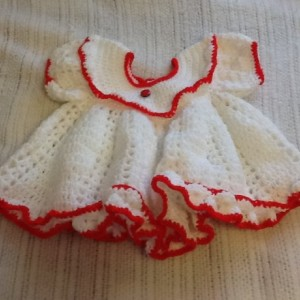 Ladybug infant dress set