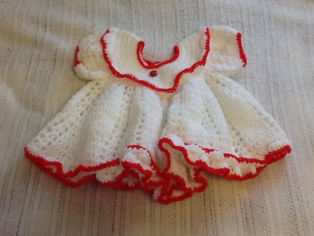 Ladybug infant dress set