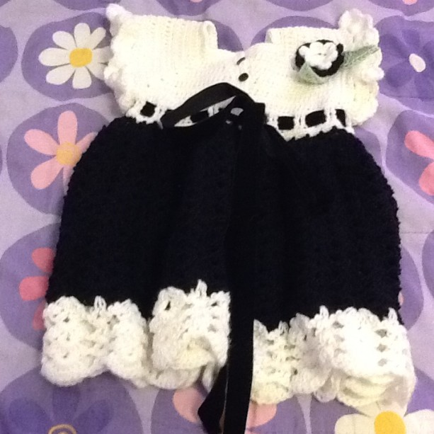 Sunday's best baby dress, Holiday baby dress, Gothic baby dress, Fancy party dress, Crocheted party dress, Baby's first party dr...t  Ask a question