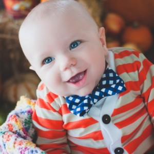 Baby Cardigan Onesie and Bow tie Set