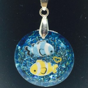 Clownfish Pair Necklace
