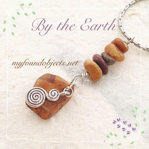 By the Earth, Jasper Double Spiral Pendant