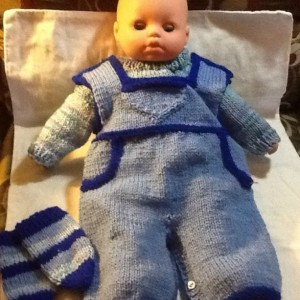 Shades of blue preemie overall set, baby boys overall set, welcome home preemie set, just in time for the holidays.