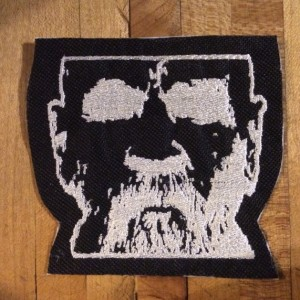 Charles Manson iron on patch
