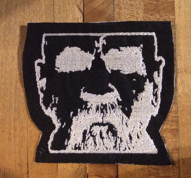 Charles Manson iron on patch