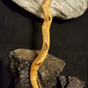 Hand Carved Curvy Wand