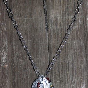 """pRAISE"" necklace and charm"