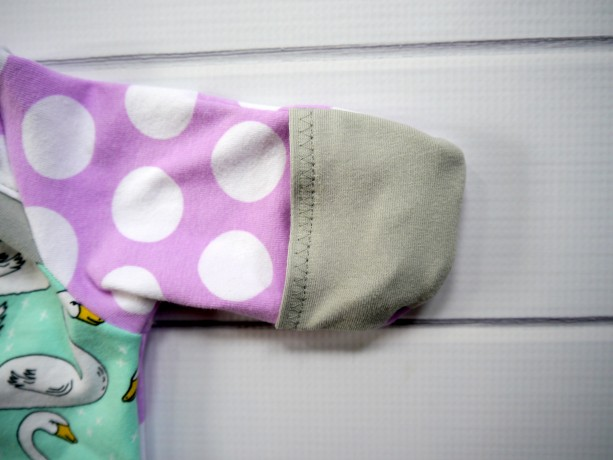 Newborn Baby Gown Set With Hand Covers And Beanie Hat Aftcra