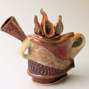 Sculptural Teapot Pottery