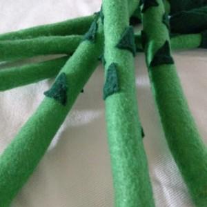 Felt Asparagus