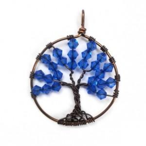 September Tree of Life Pendant