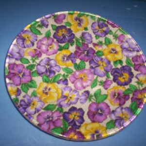 glass decorative plates