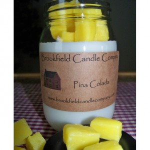 Pina Colada Embed Candle