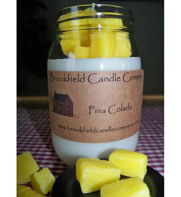 Pina Colada Embed Candle