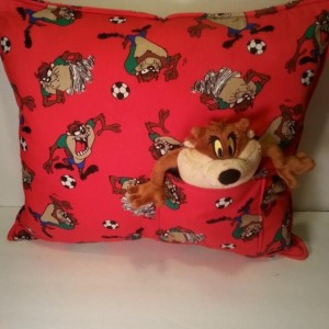 Tasmanian Devil Pocket Pillow