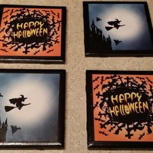 Happy Halloween Coasters