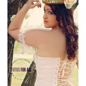 Adult Paris princess corset tutu set