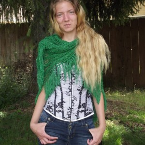 Emerald City Shawl