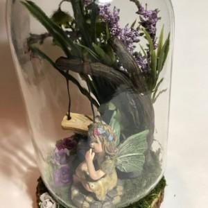 Fairy Garden Swing Nightlight-Home Lighting-Baby Shower-Child's Birthday-Child's Room-Decorative Light-Nursery-Custom Light-Holiday Gifts