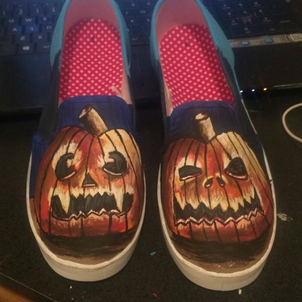 Jack o'lantern Shoes