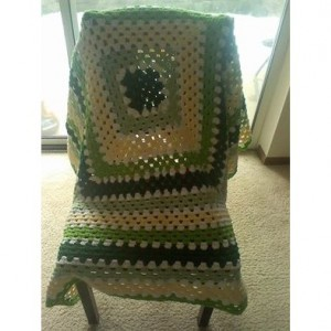 giant granny square afghan