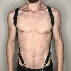 "1"" X-Back Harness Suspender W/ added Adjustable Shoulder Straps"