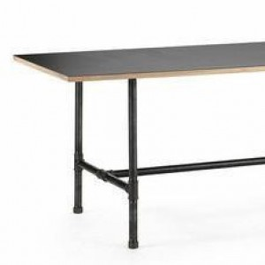 """Black Pipe Table Frame/TABLE LEGS    """"DIY"""" Parts Kit, Pipe- 1"""" X 54"""" Long X 30"""" Wide X 28"""" Tall"""