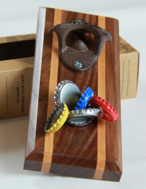 Bottle Opener Magnetic Cap Catcher Personalized Aftcra