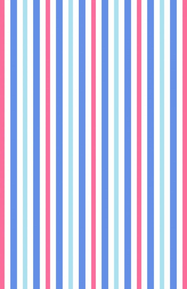 Stripes Spiral Bound Notebook