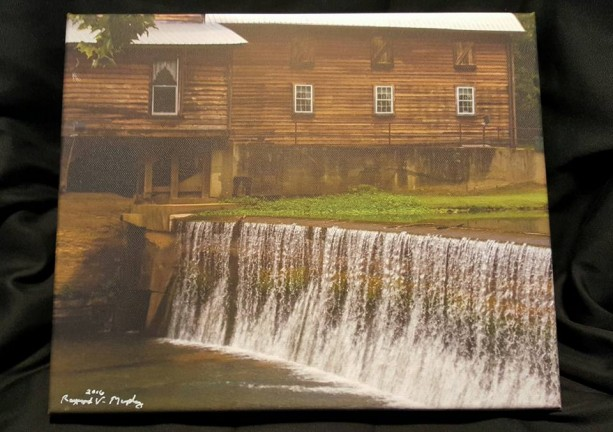 """12 x 10 Canvas """"A Tennessee Mill"""""""