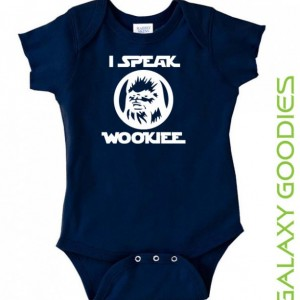 I Speak Wookiee - Chewbacca Star Wars Baby Onesie
