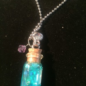 Harry Potter inspired mermaid tears necklace