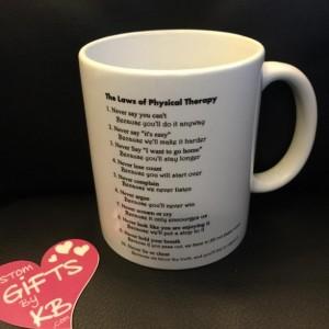 Physical Therapy Mug Aftcra