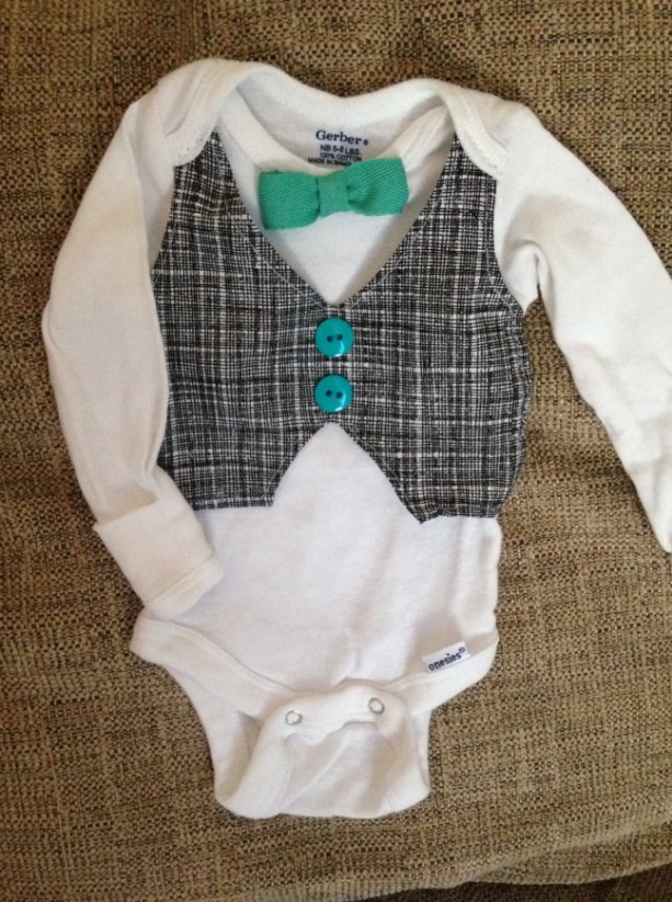 Boys Formal Onesie